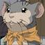 Rakushun mouse form